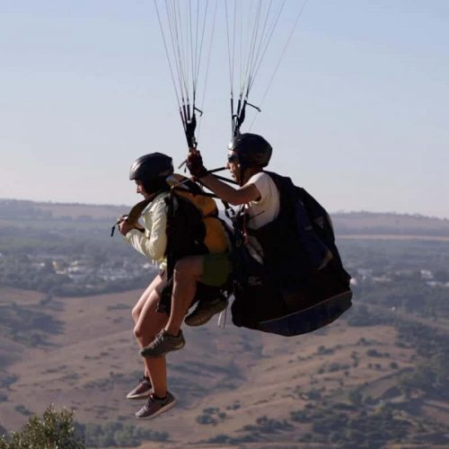 Happy Moments en Vejer - Vuelo en Parapente