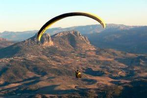 Vuelo en Parapente en la Sierra de Cadiz