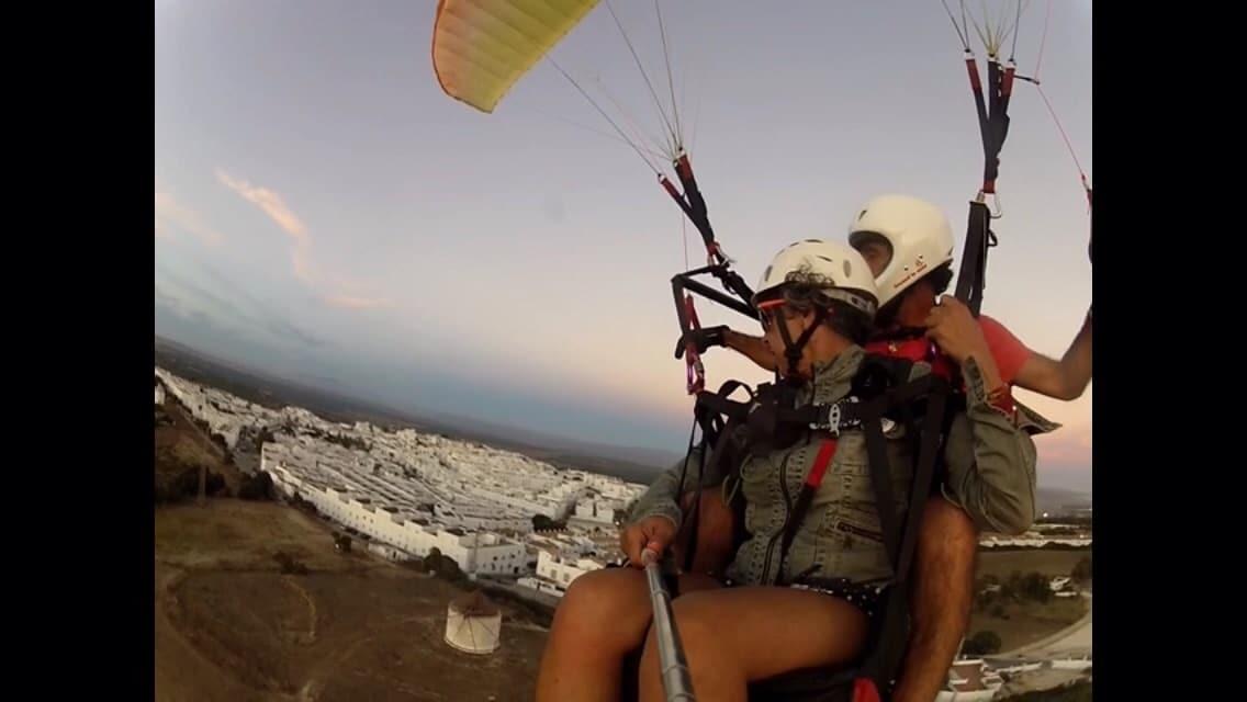 Volar en Parapente Cadiz